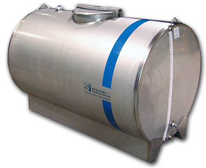 Spokane Industries agricultural chemical stainless steel tank