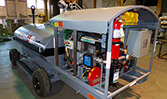A shot of the HandiFueler Ground Support Fuel Service Cart (AGE Refueler).
