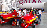 Qatar Airways maintainers getting acquainted with their new Sealvac Plus+ fuel bowsers